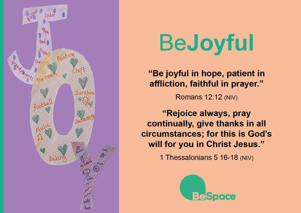BeJoyful postcard